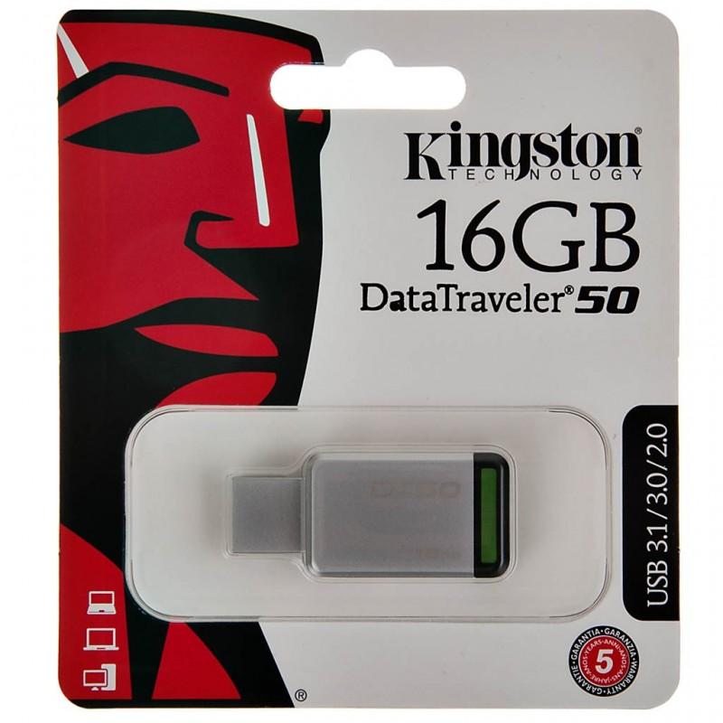 Flash memory DataTraveler 50 USB 3.1 Kingston