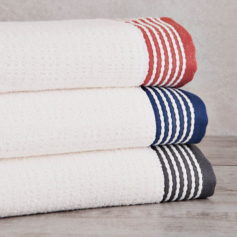 Toalla de baño Jacquard Rayas 140x70 cm 100% algodón Sousa Dias