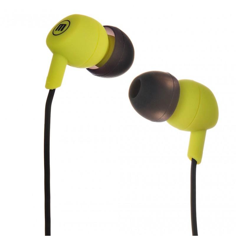 Audífonos con botón y micrófono IN-345 Maxell