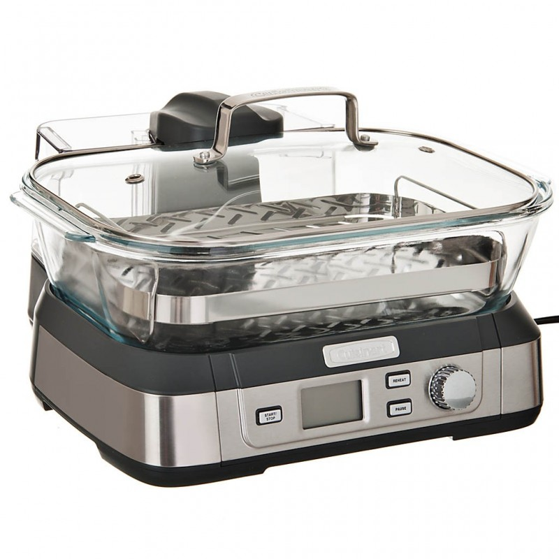 Vaporera eléctrica digital 5 L STM-1000 Cuisinart