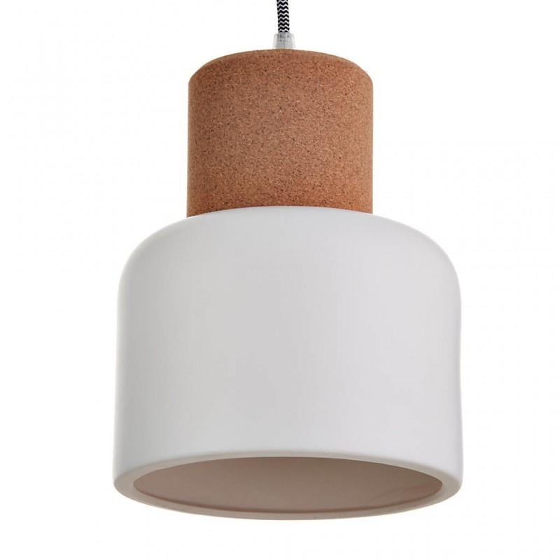 Lámpara colgante de cerámica Natural