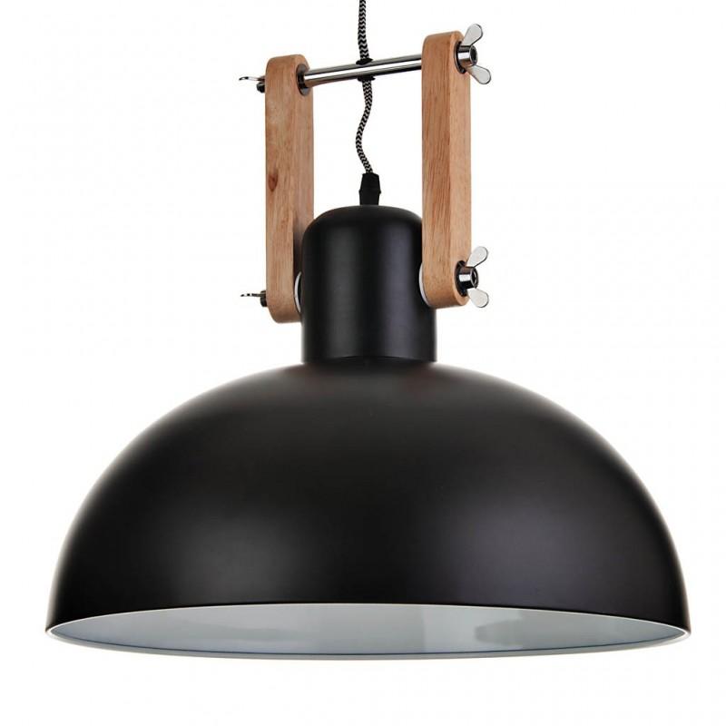 Lámpara colgante de madera