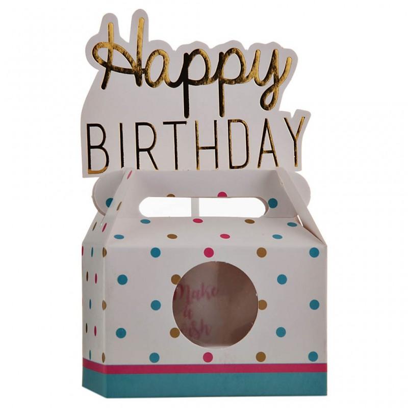 Caja pequeña para regalo Cumpleaños Surtido