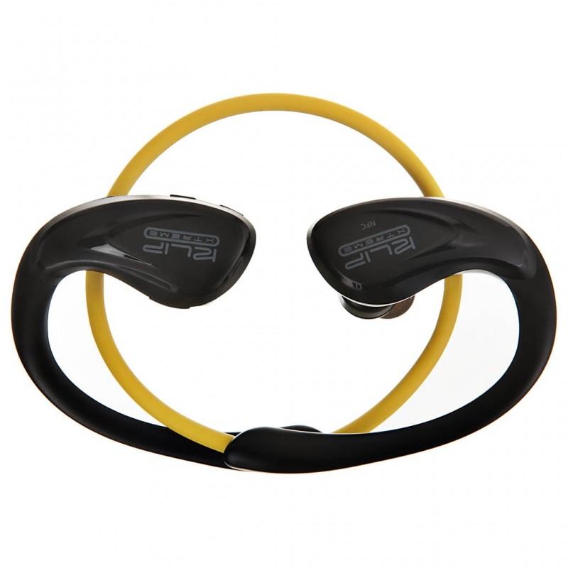 Audífonos deportivos Bluetooth con micrófono y resistentes al sudor KHS-634YL Athletik X Klip Xtreme