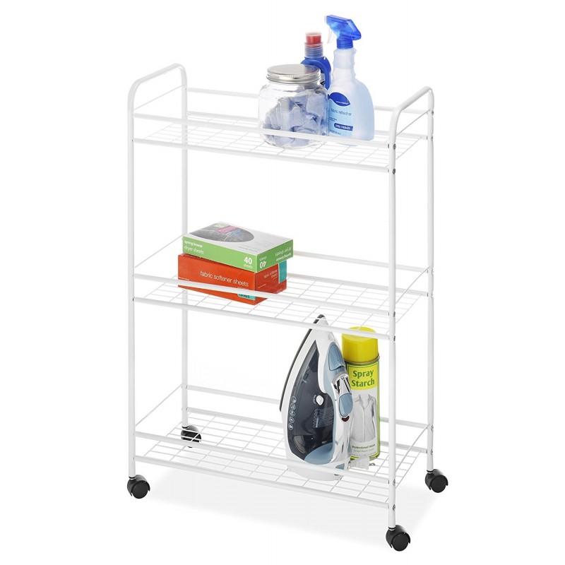 Organizador para closet con ruedas 3 niveles Whitmor