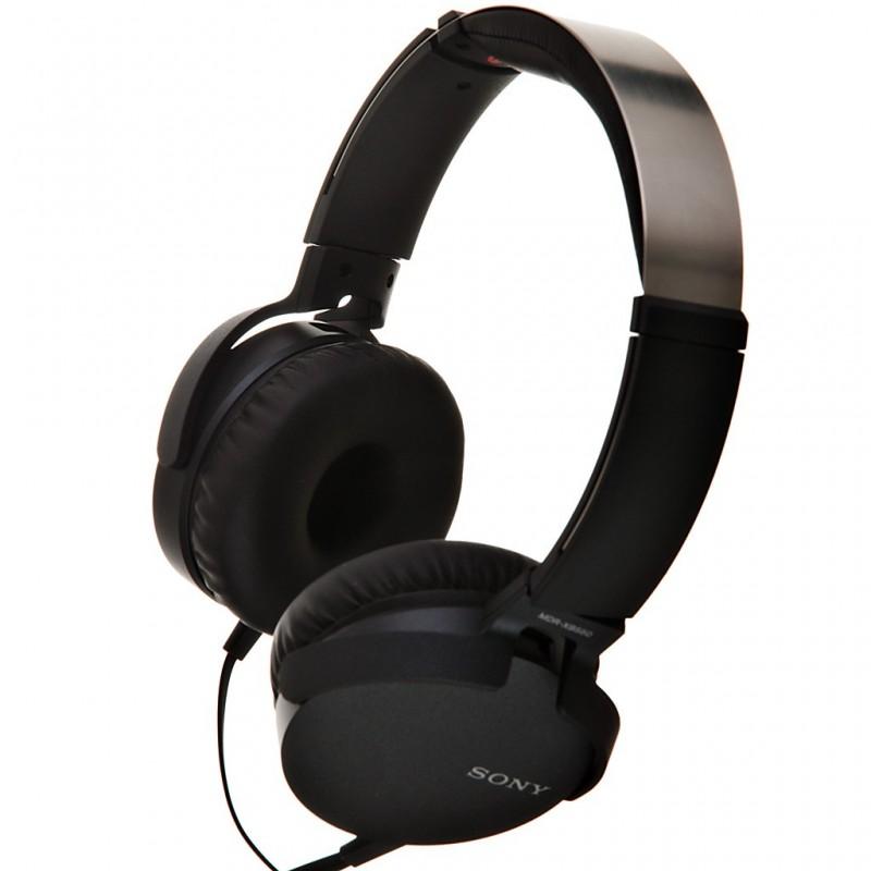 Audífonos diadema 30mm EXTRA BASS MDR-XB550AP Sony