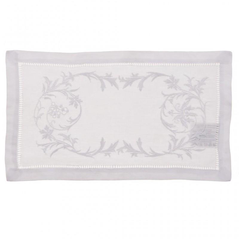 Tapete rectangular Bordado Gargoleado 100% algodón Haus
