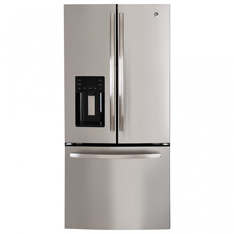 Refrigerador French Door con dispensador 590 L 25' PFM25LSKCSS GE