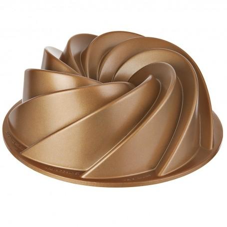 Molde cono Roseta Dorado Nordic Ware