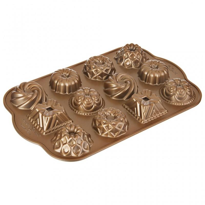 Molde para mini pasteles Bundt Charms Ware