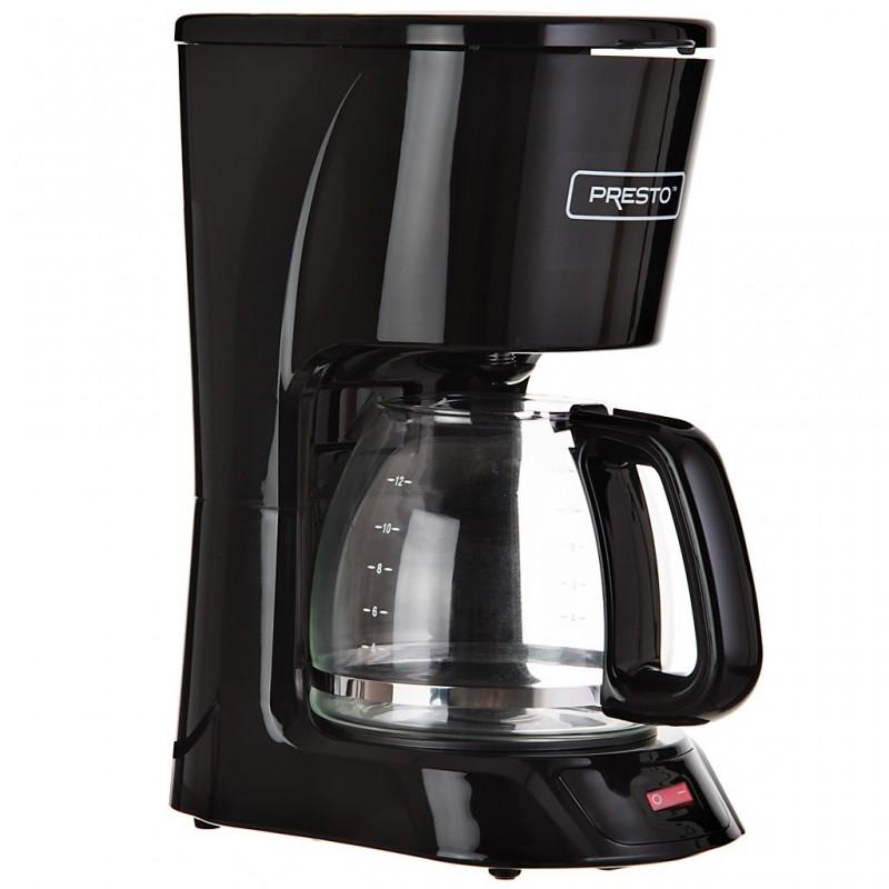 Cafetera 12 tazas 1000W Presto