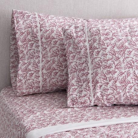 Juego de sábanas Coral Golden 180 hilos 50% poliéster - 50% algodón Haus
