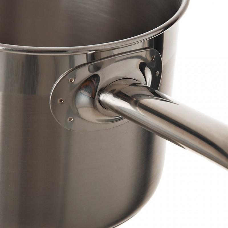 Olla lechera de acero inoxidable para inducción Profesional BRA