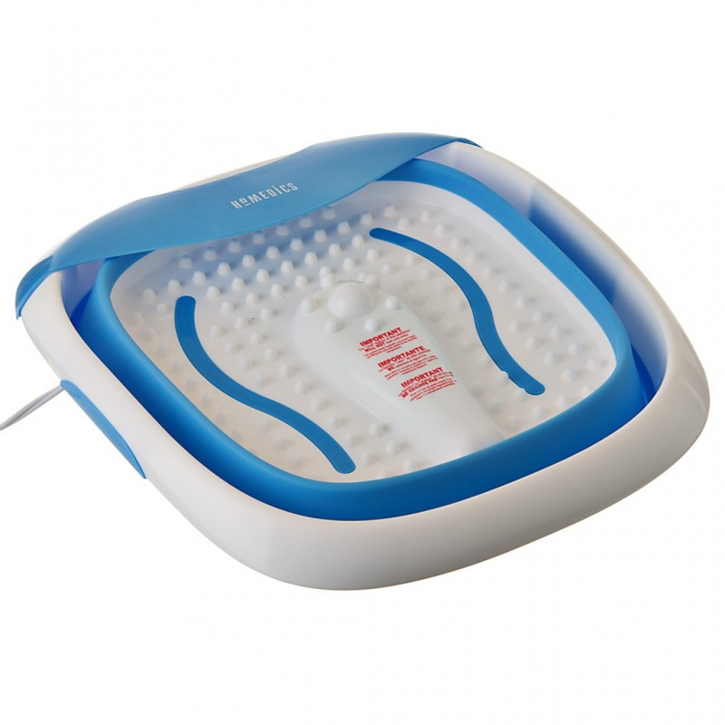 Spa para pies colapsable con calor FB-350 Homedics