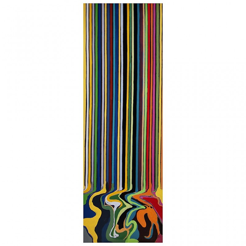Cuadro Rayas 150 x 50 cm