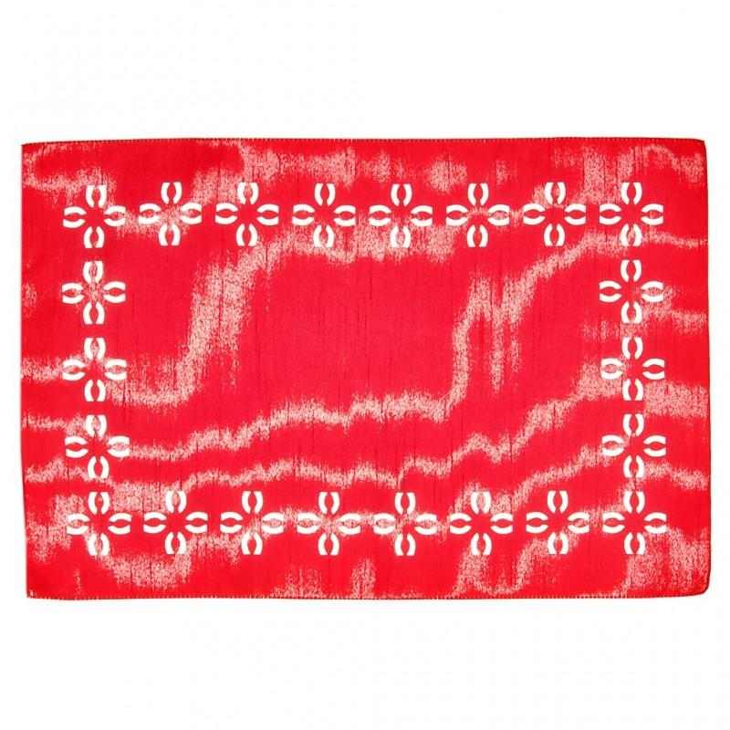 Individual Diseño Láser Shantug Poma Rosa