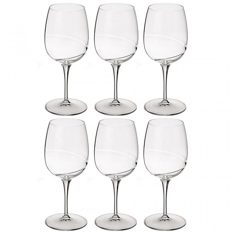 Juego de 6 copas para vino tinto Academia del Vino Bormioli
