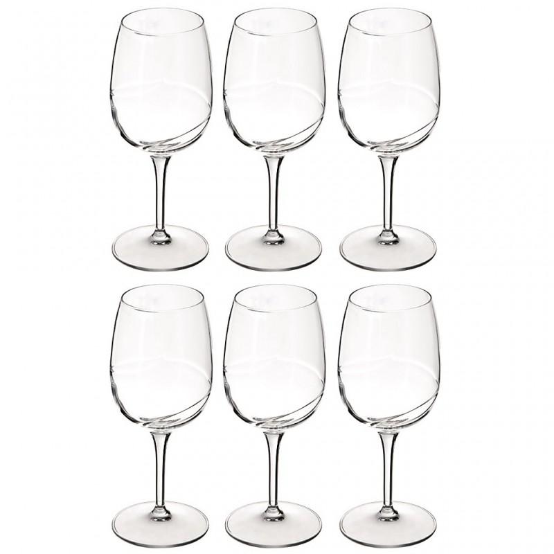 Juego de 6 copas para vino blanco Academia del Vino Bormioli
