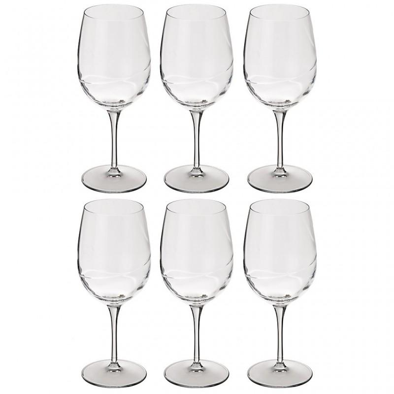Juego de 6 copas para agua Academia del Vino Bormioli
