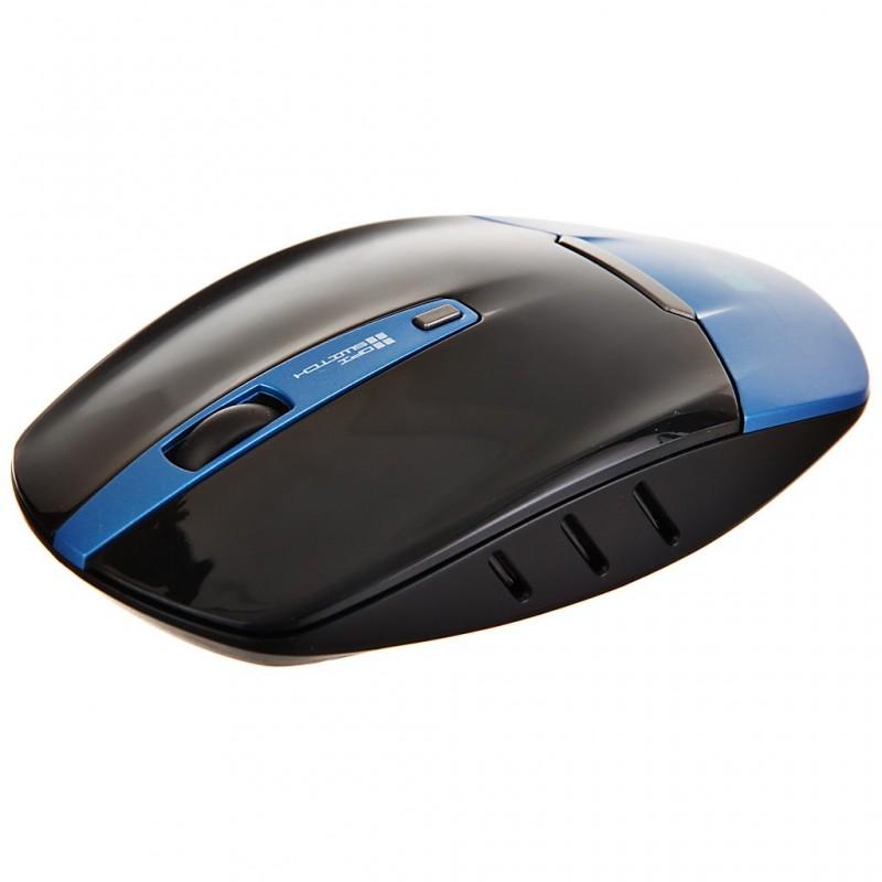 Mouse Delgado Wireless 2.4GHz Negro / Azul Case Logic