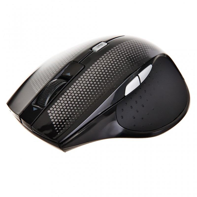 Mouse Óptico Inalámbrico 2.4GHz Negro Case Logic