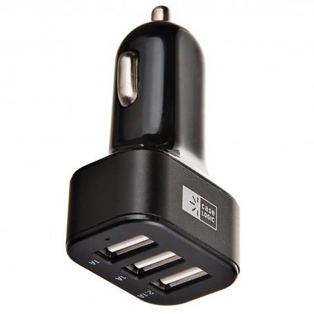 Cargador para auto 3 puertos USB Case Logic
