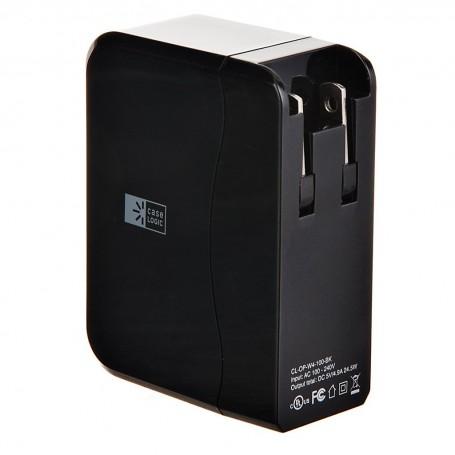 Cargador para pared con 4 puertos USB Case Logic