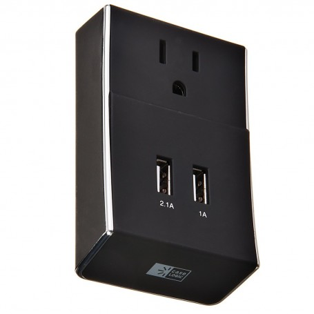 Placa de pared con 2 puertos USB Case Logic