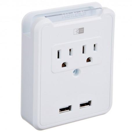Placa de pared con puertos USB Blanco Case Logic