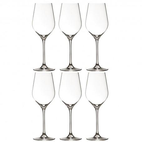 Juego de 6 copas para vino blanco Passion Krosno Glass