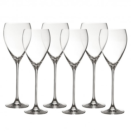 Juego de 6 copas para vino blanco Elegance Krosno Glass