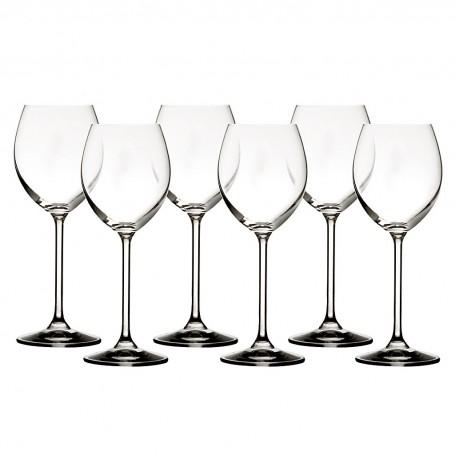 Juego de 6 copas para vino blanco Lifestyle Krosno Glass