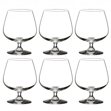 Juego de 6 copas para Brandy Lifestyle Krosno Glass