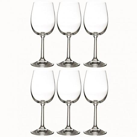 Juego de 6 copas para vino blanco 200ml Basic Krosno Glass