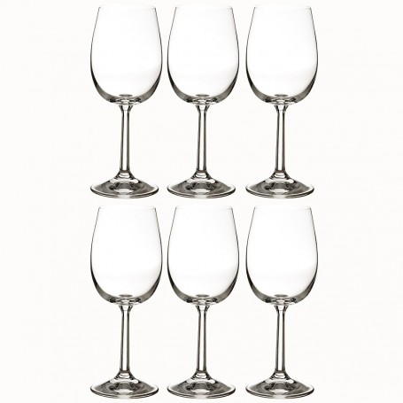 Juego de 6 copas para vino blanco 200ml Basic Krosno Glass