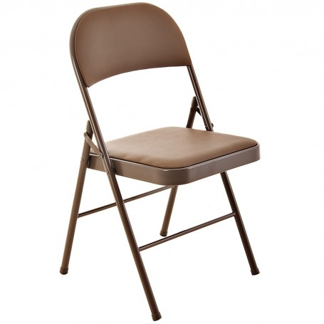 Mesa con 4 sillas plegables