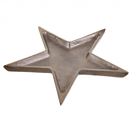 Plato decorativo Estrella Silver Haus
