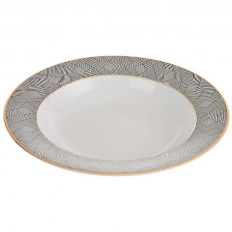Plato para sopa de porcelana Manhattan Spal