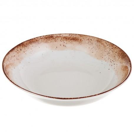 Plato para sopa de porcelana Blend Simple Spal