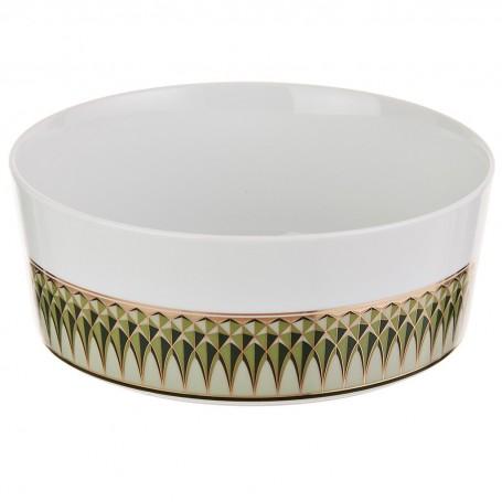 Ensaladera de porcelana Oliva Spal