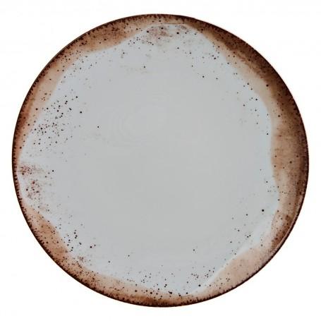 Plato tendido de porcelana Blend Simple Spal