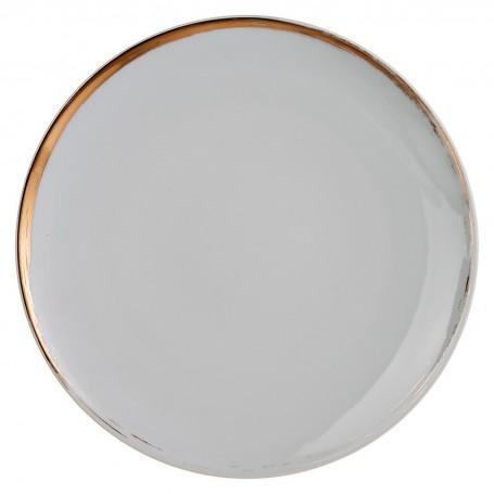 Plato tendido de porcelana Glee Spal