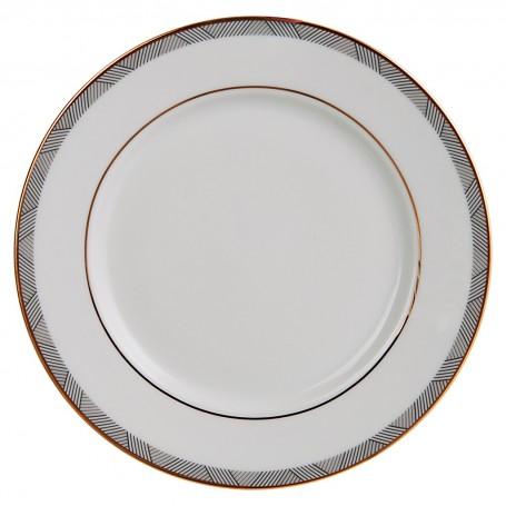 Plato para postre de porcelana Manhattan Spal