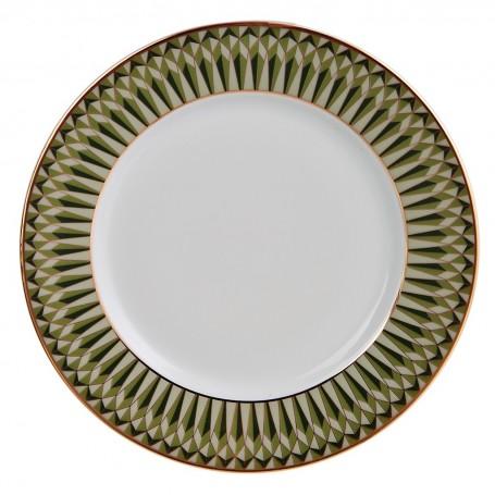 Plato para postre de porcelana Oliva Spal