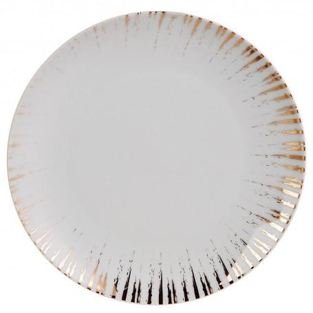 Plato para postre de porcelana Glee Spal