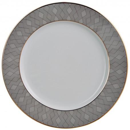 Plato base de porcelana Manhattan Spal