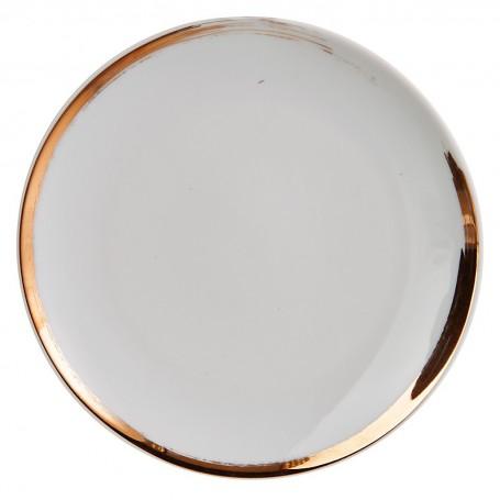 Plato para pan de porcelana Glee Spal