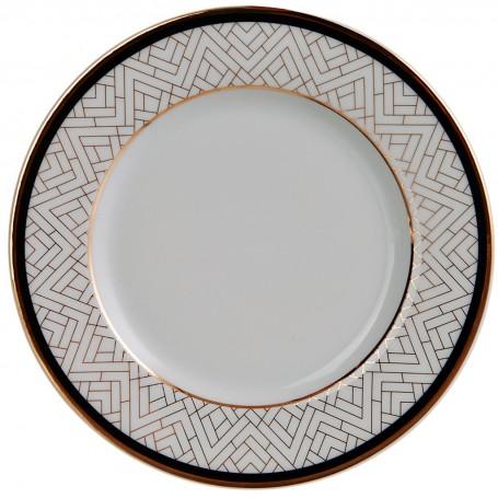 Plato para pan de porcelana Art-Deco Spal