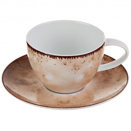 Juego de taza y plato para té Blend Simple Spal