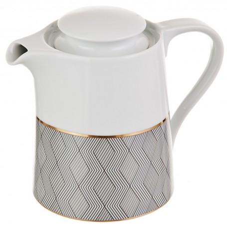 Tetera con tapa de porcelana Manhattan Spal